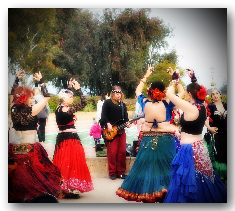 Belly Dancers Balboa Park, balboa park, san diego, belly dancers