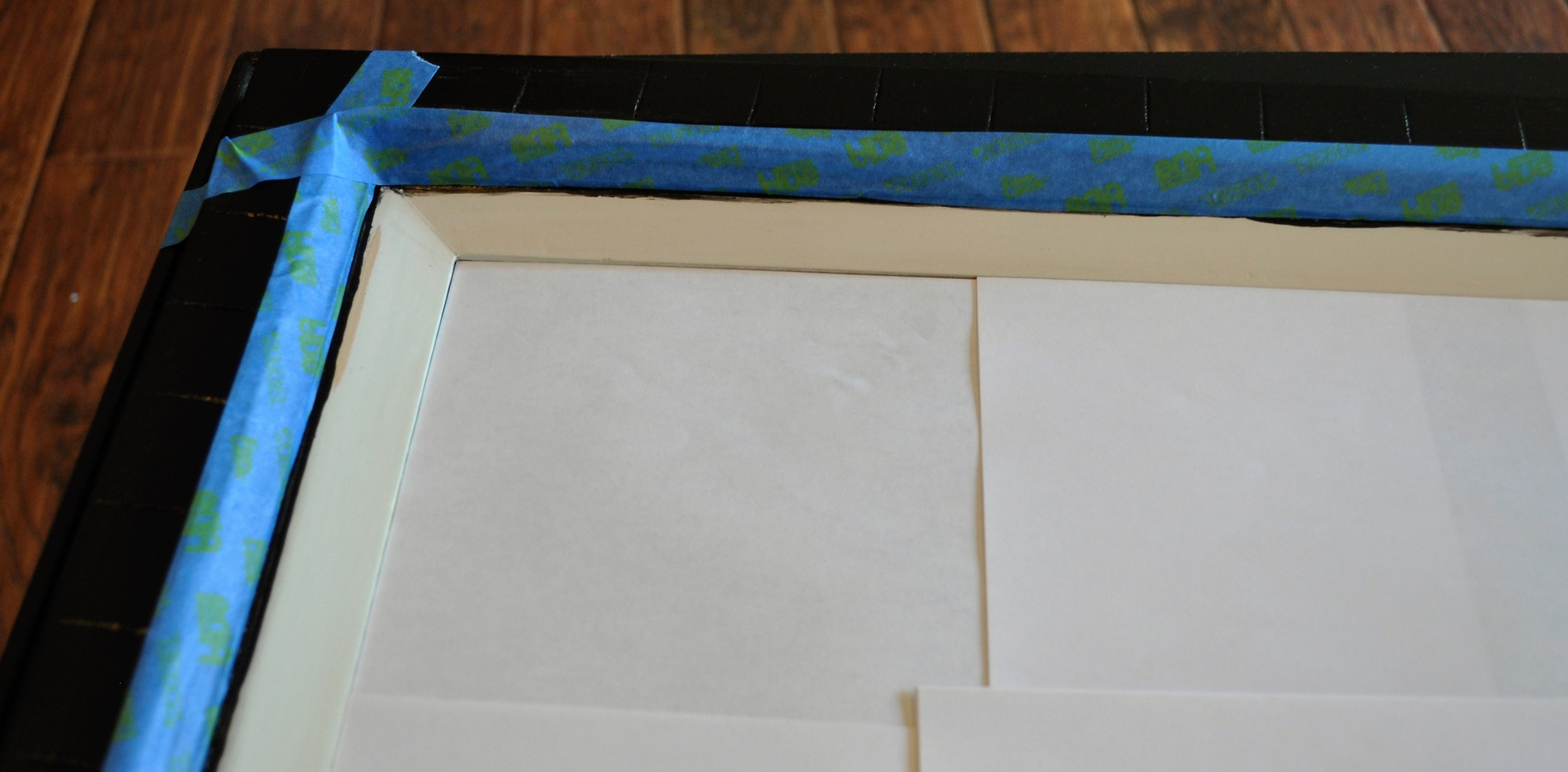 DIY Painting a frame, painting a frame