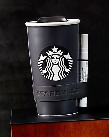 Starbucks Writeable Cup, Starbucks Cup