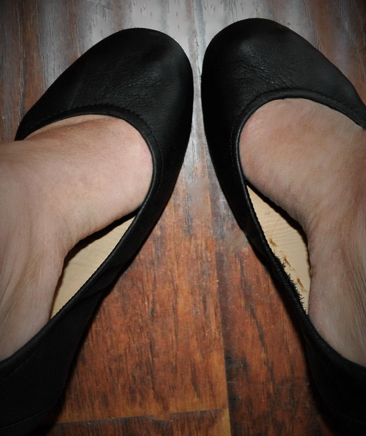 Tieks, Black Leather Tieks, Black Tieks