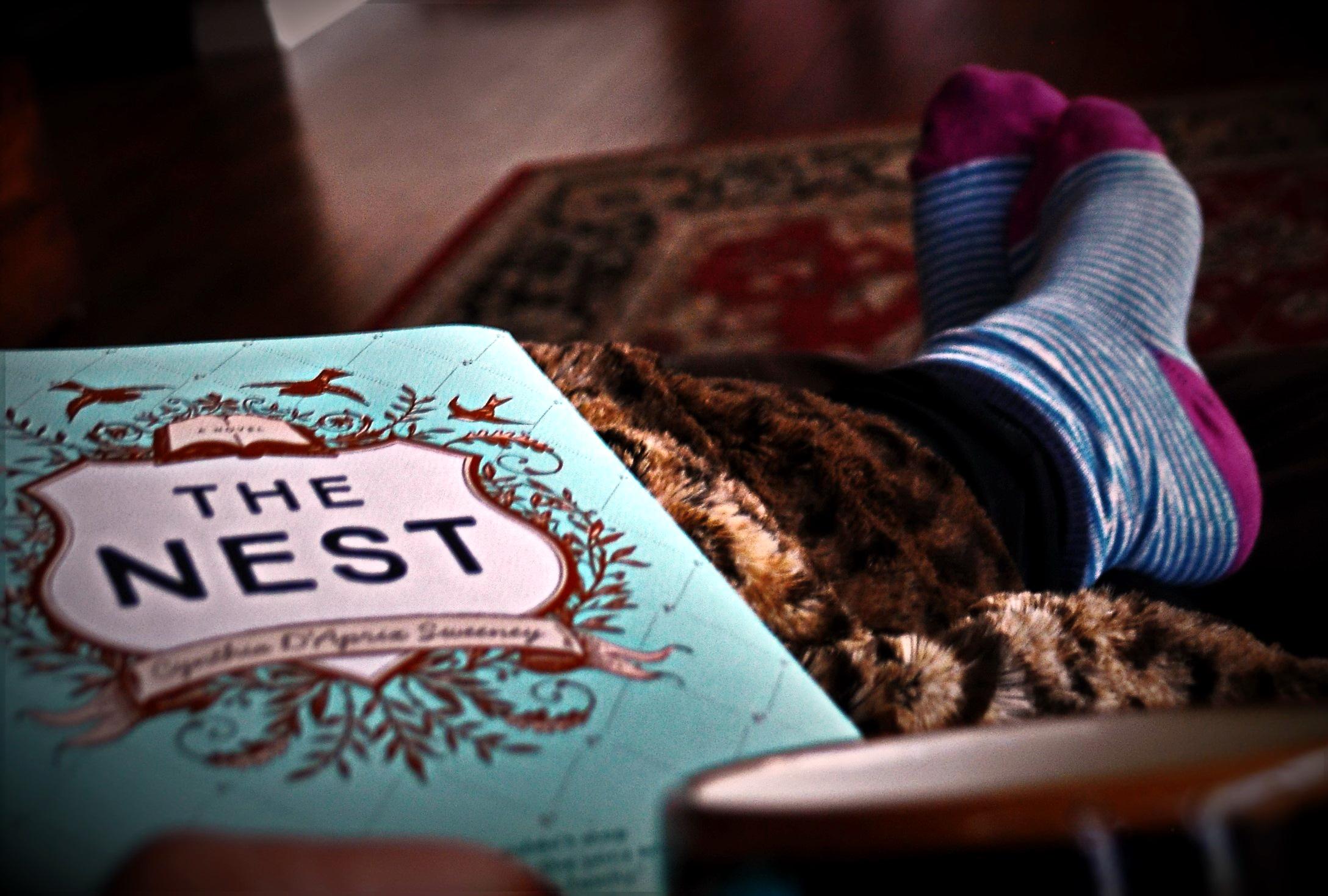 Cozy Reader Club April 2016 Relax