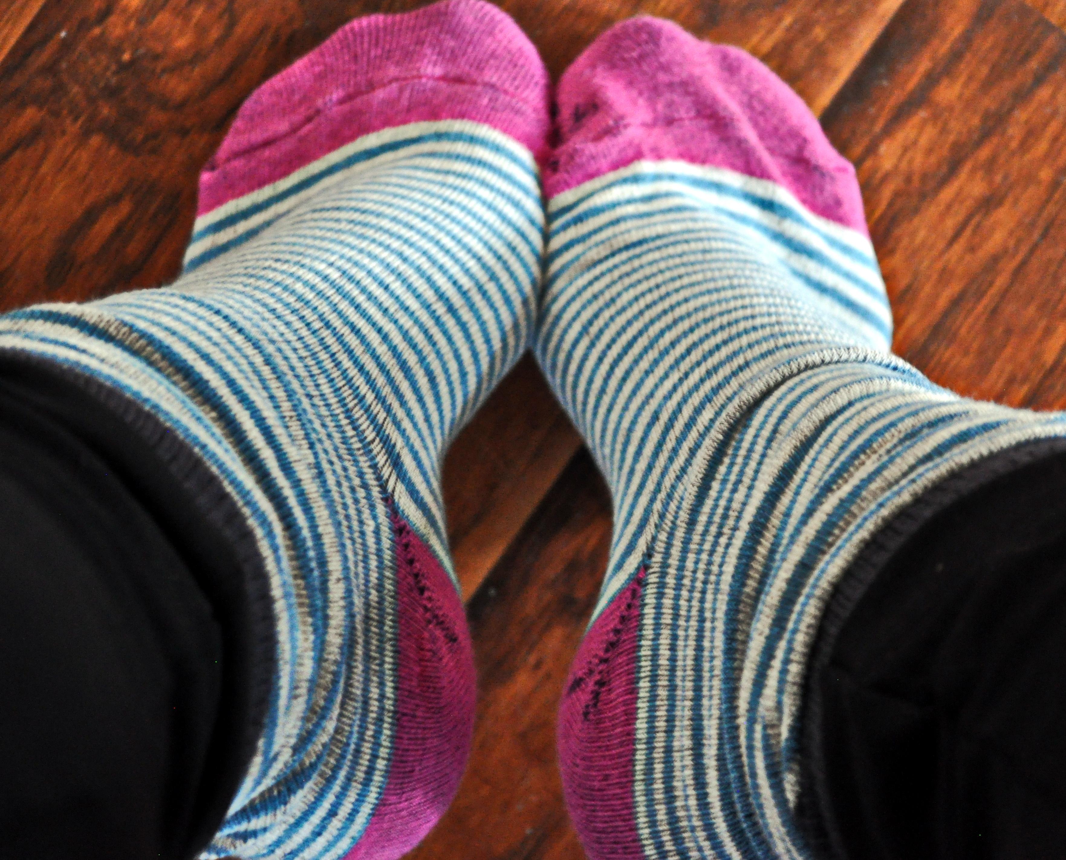 Cozy Reader Club April 2016 Socks