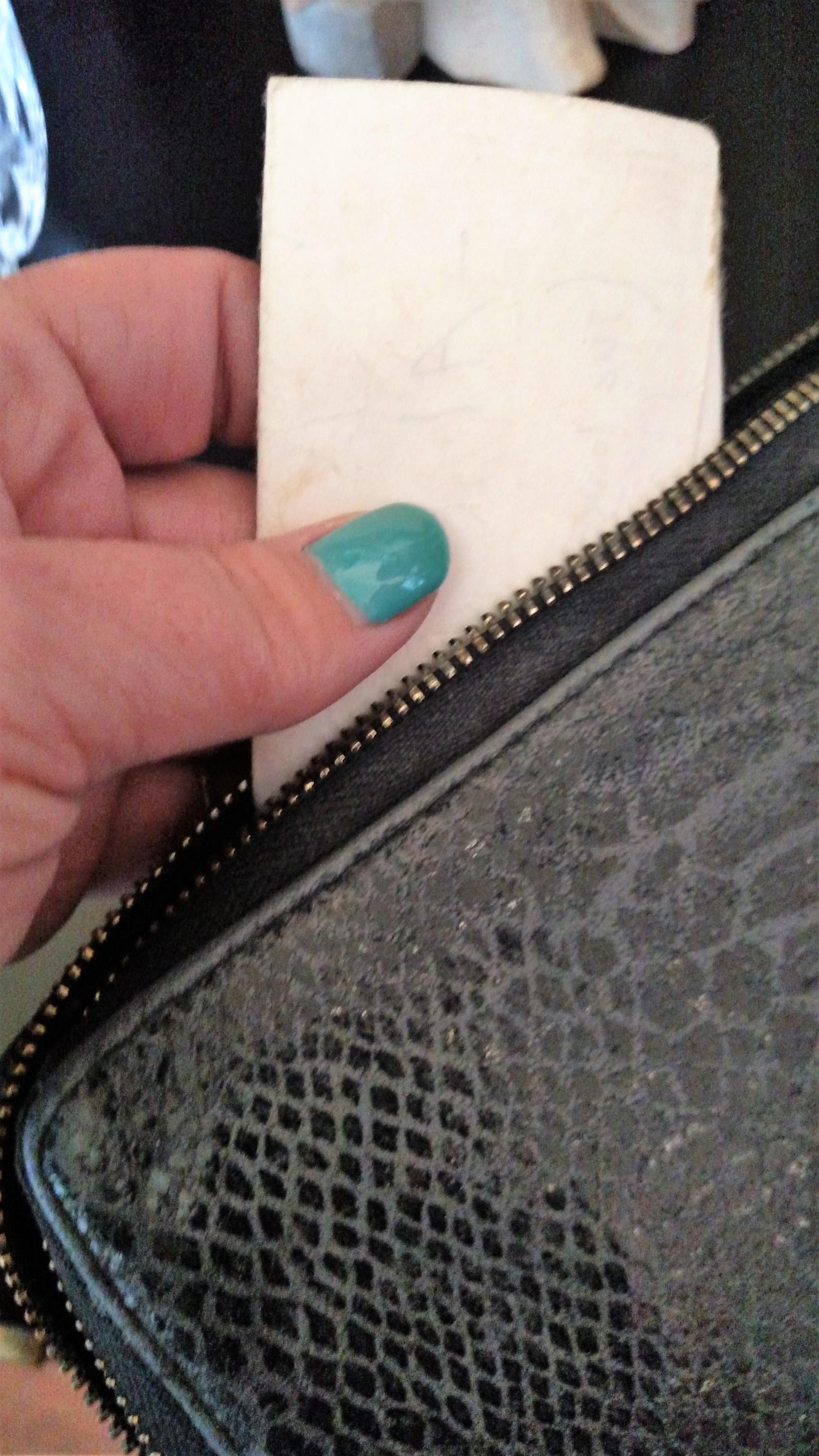 Note in Wallet