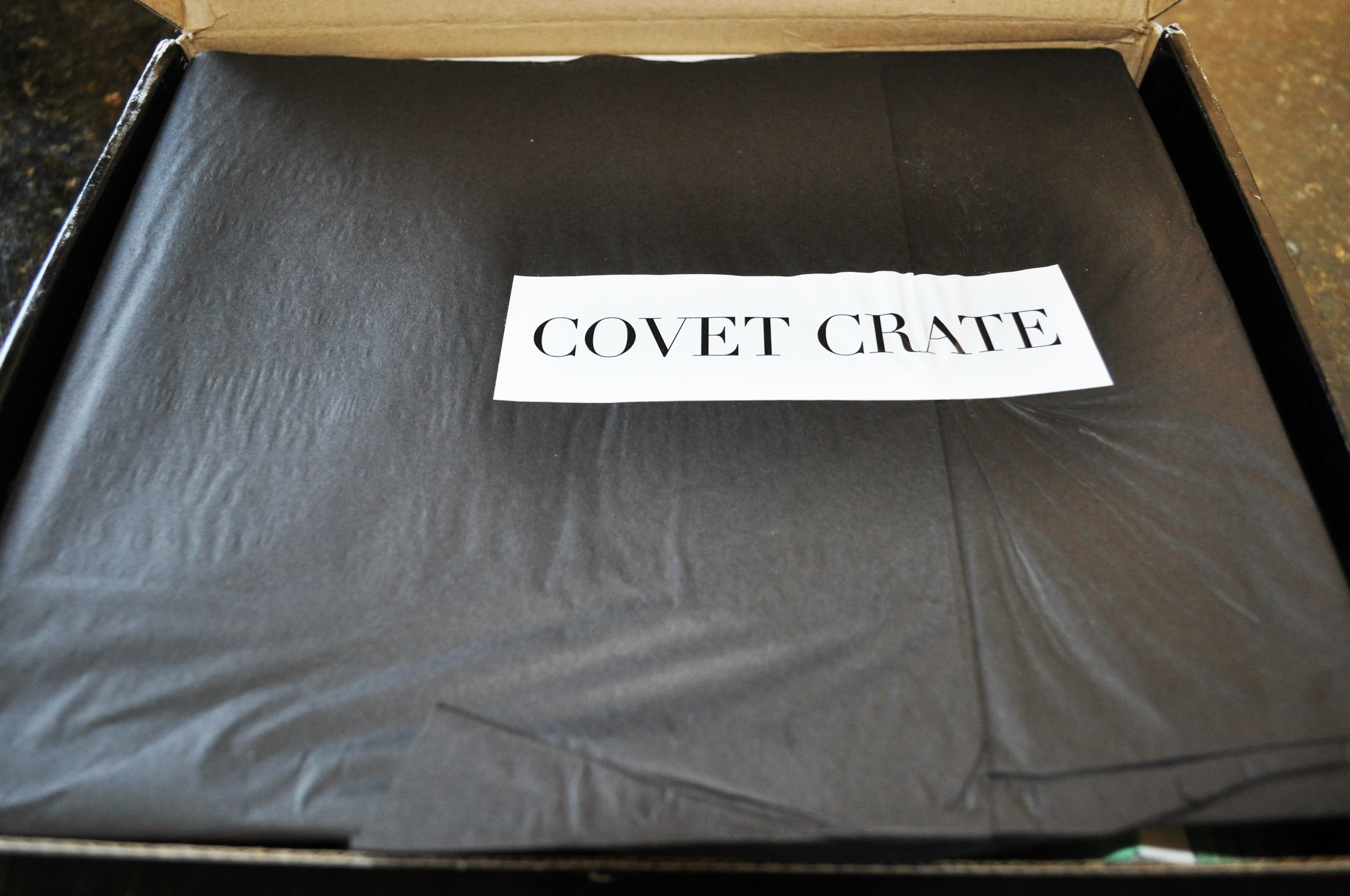 Covet Crate May 2016 Packaging