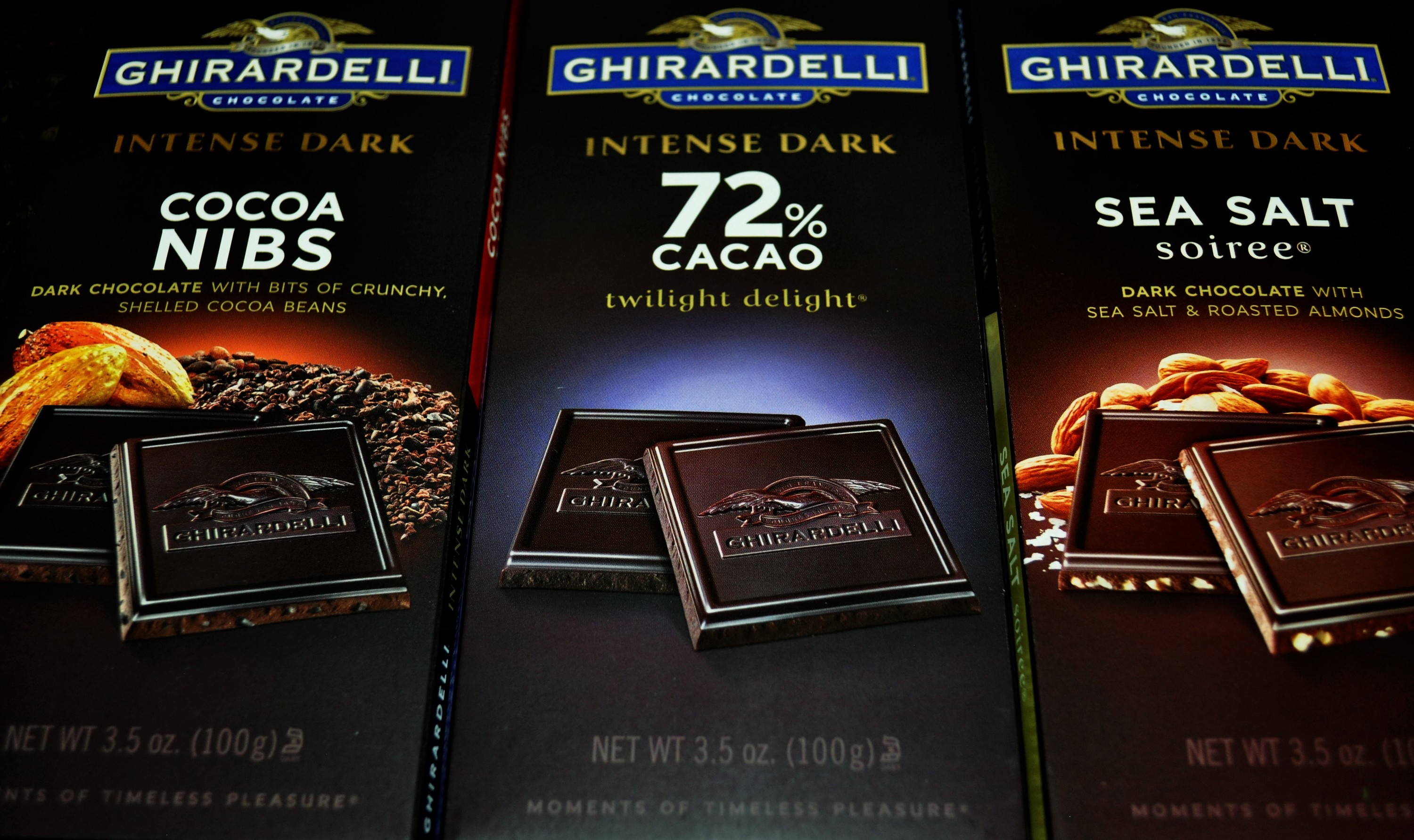 Ghirardelli's Savor the Dark Book Club May 2016 Chocolate