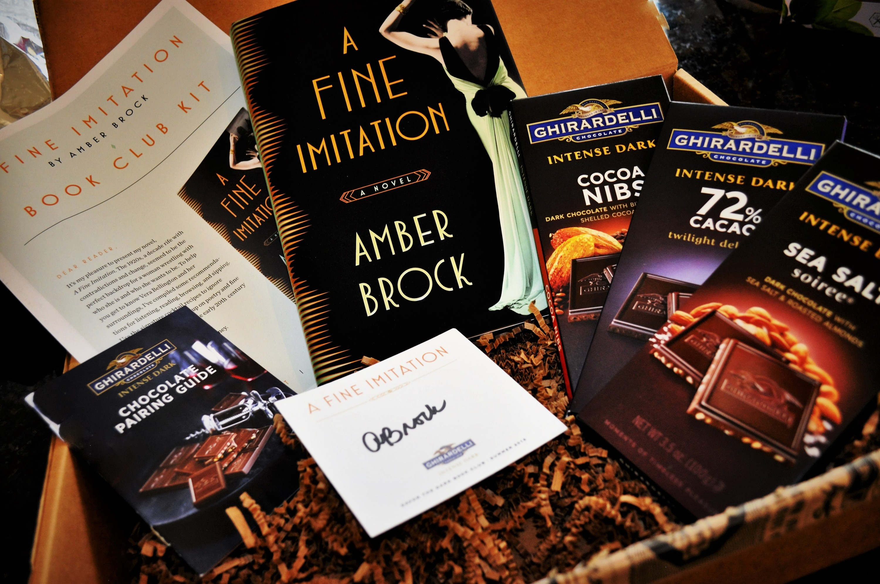 Ghirardelli's Savor the Dark Book Club May 2016 Contents