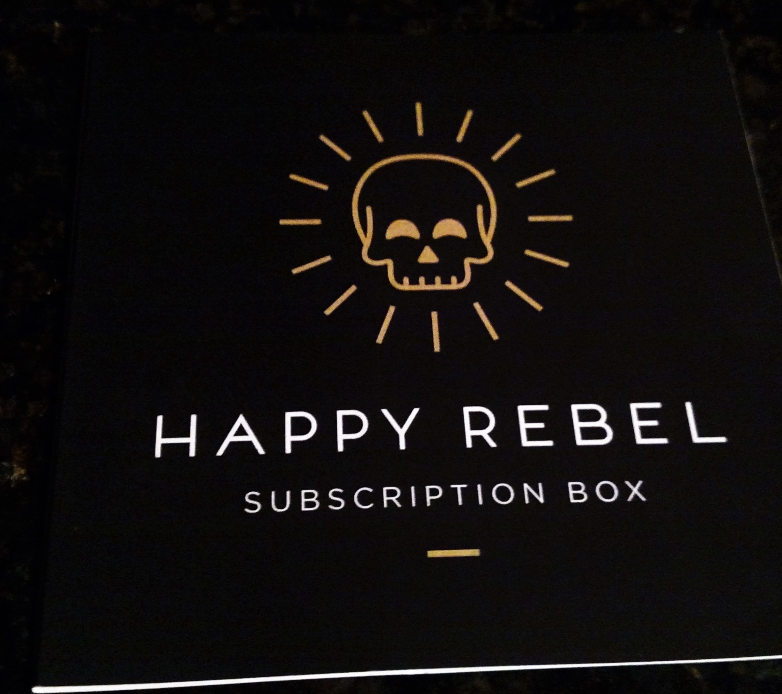Happy Rebel Box Spring 2016 Insert 1