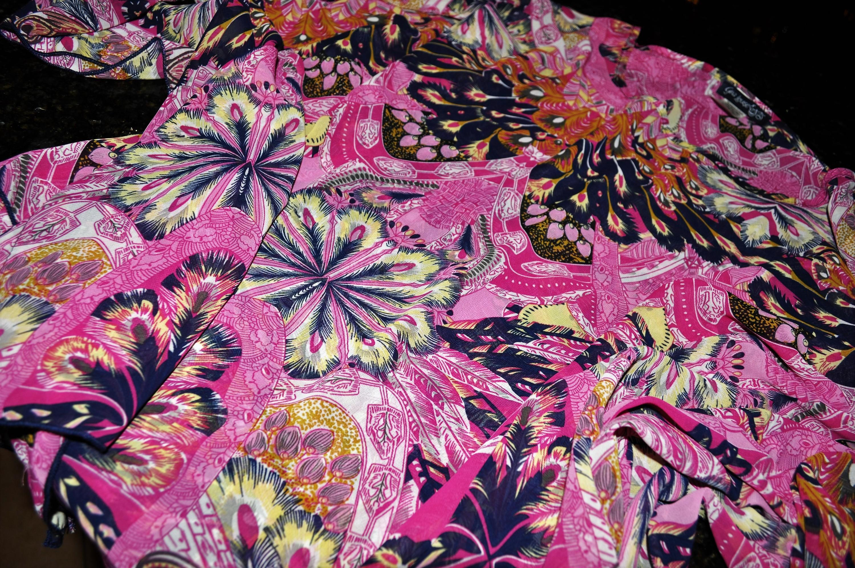 Gina Louise April 2016 Pink Kimono