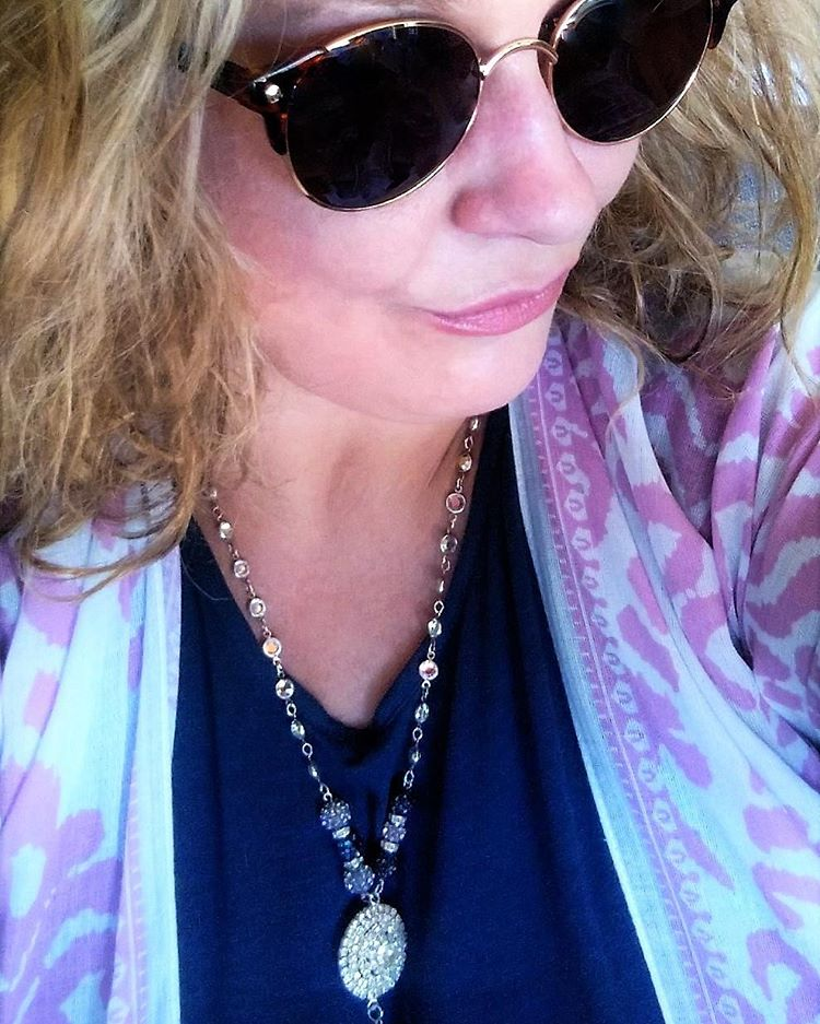 Gina Louise June 2016 Pink Kimono On 2
