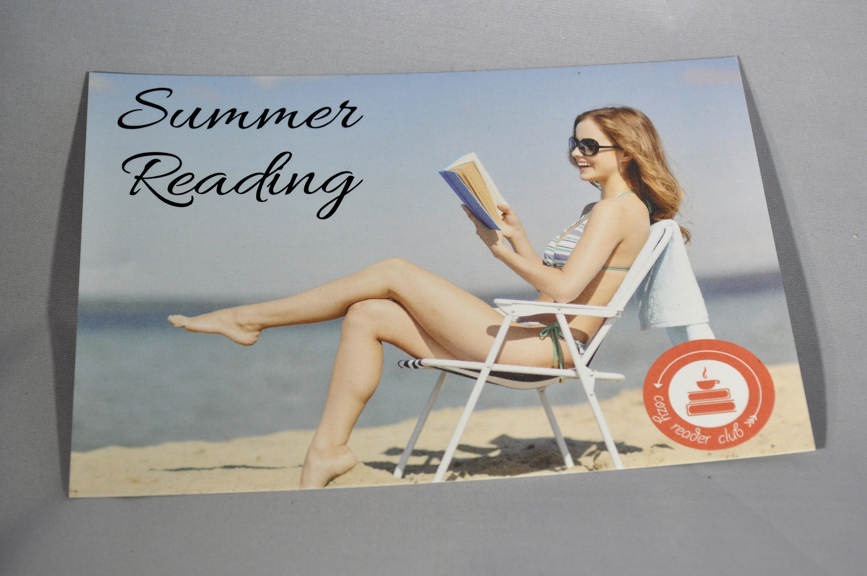 Cozy Reader Club July 2016 Insert Front