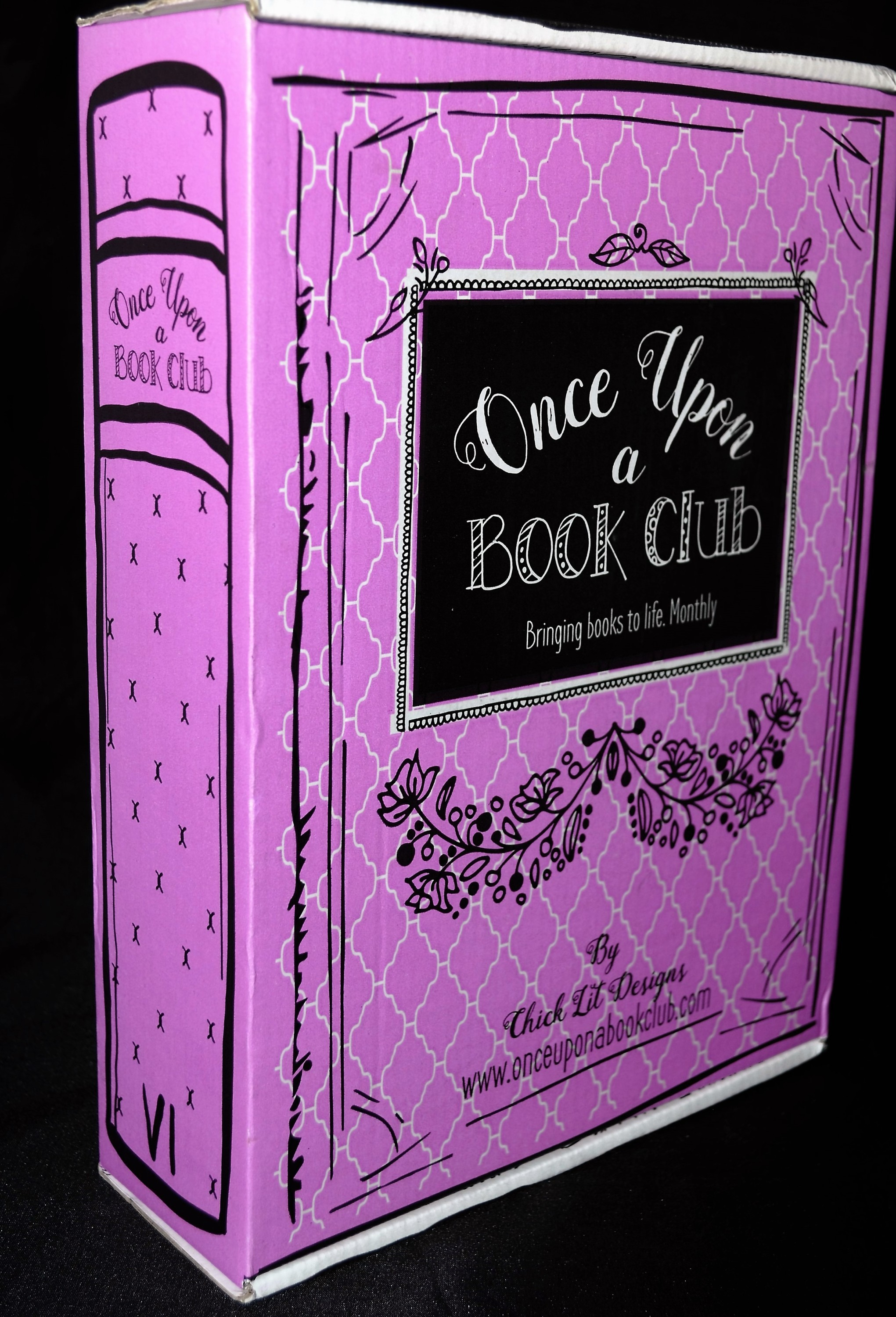 Once Upon a Book Club August 2016 Box 2